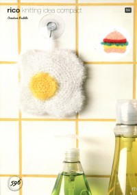 Rico Knitting Idea Compact 596 (Leaflet) Fried Egg and Burger in Creative Bubble  (DK)