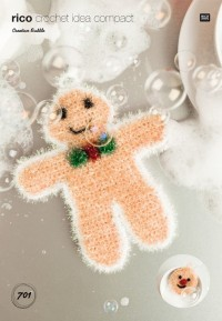 Rico Knitting Idea Compact 701 (Leaflet) Gingerbread Man and Emoji in Creative Bubble (DK)