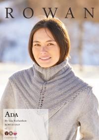 Rowan - Ada - Collar by Lisa Richardson in Cashmere Haze (downloadable PDF)