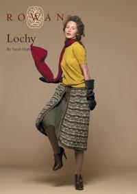 Rowan - Lochy Apron and Skirt in Kid Classic, Kidsilk Haze (downloadable PDF)