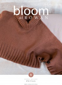 Bloom at Rowan - Petal - Jumper by Erika Knight in Cotton Wool (downloadable PDF)
