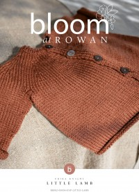Bloom at Rowan - Little Lamb - Cardigan by Erika Knight in Baby Cashsoft Merino (downloadable PDF)