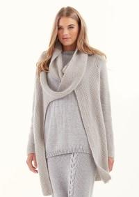 Rowan - MODE at Rowan - Cabled Skirt by Quail Studio in Alpaca Soft DK (downloadable PDF)
