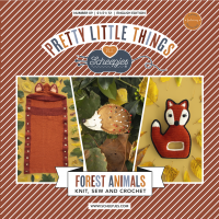 Scheepjes Pretty Little Things - Number 09 - Forest Animals (booklet)