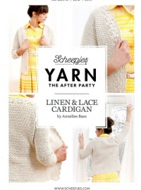Scheepjes Yarn The After Party 01 - Linen & Lace Cardigan (booklet)