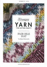 Scheepjes Yarn The After Party 07 - Fair Isle Hat (booklet)