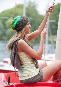 Schachenmayr - Beanie in Green Shades in Catania  (downloadable PDF)