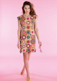 Schachenmayr - Crochet Dress in Catania (downloadable PDF)