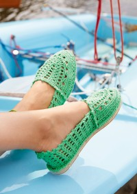 Schachenmayr - Crocheted Espadrilles in Catania  (downloadable PDF)