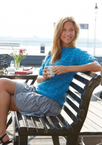Schachenmayr - Crochet Pullover in Wave Pattern in Catania  (downloadable PDF)