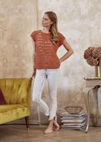 Schachenmayr - Crochet Shirt in Catania (downloadable PDF)