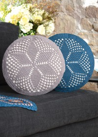 Schachenmayr - Crochet Round Cushions in Catania (downloadable PDF)