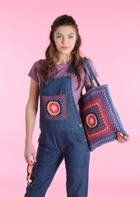 Schachenmayr - Crochet Embellishments for Dungarees (downloadable PDF)