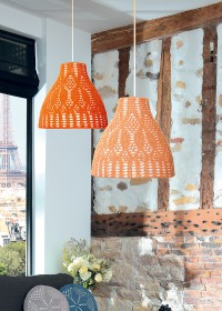 Schachenmayr - Crocheted Lampshade Cover in Catania (downloadable PDF)