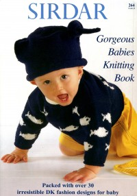 Sirdar 0264 Gorgeous Babies Knitting Book (book)