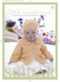 Sirdar 0332 Little Sweet Peas (book)