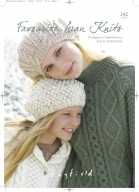 Sirdar 0342 Favourite Aran Knits 1 (book)
