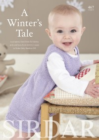 Sirdar 0467 A Winters Tale in Snuggly Baby Bamboo DK (booklet)