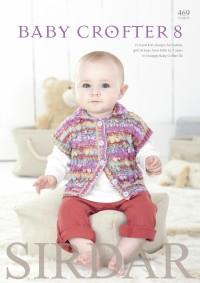 Sirdar 0469 Baby Crofter 8 (booklet)