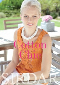 Sirdar 0476 Cotton Chic in Cotton DK (booklet)