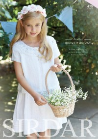 Sirdar 0478 Another Beautiful Day Knit and Crochet Designs in Shades of White (booklet)