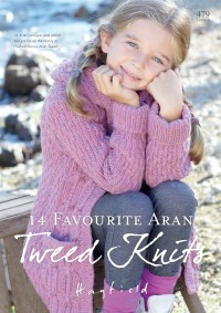 Sirdar 0479 14 Favourite Aran Tweed Knits For The Family (booklet)