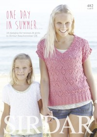 Sirdar 0482 One Day in Summer (booklet)