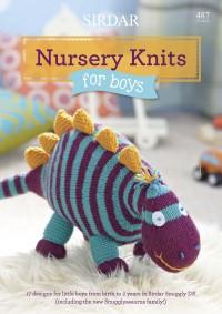 Sirdar 0487 Nursery Knits for Boys in Snuggly DK (booklet)