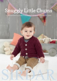 Sirdar 0489 Snuggly Little Chums in Snuggly DK (booklet)