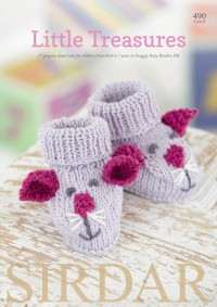 Sirdar 0490 Little Treasures in Snuggly Baby Bamboo DK (booklet)