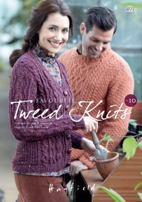 Sirdar 0491 Favourite Tweed Knits No.10 in Hayfield Bonus Aran Tweed (booklet)