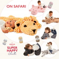 Sirdar 0551 - Super Happy Chenille Book  - On Safari  (booklet)