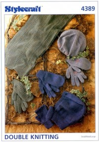 Stylecraft 4389 DK (leaflet) Adult Gloves and Accessories