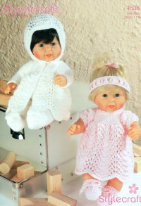 Stylecraft 4538 DK (leaflet) Dolls Outfits