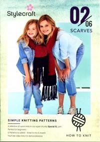 Stylecraft - Beginner Knits - Scarves in Special XL (leaflet)