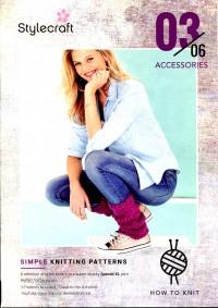 Stylecraft - Beginner Knits - Accessories in Special XL (leaflet)