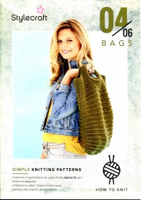 Stylecraft - Beginner Knits - Bags in Special XL (leaflet)