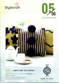Stylecraft - Beginner Knits - Cushions in Special XL (leaflet)