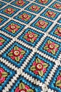 Janie Crow - Mexican Diamonds Crochet Blanket in Stylecraft Life DK (leaflet)