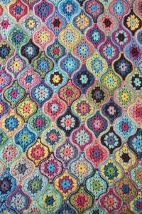 Janie Crow - Mystical Lanterns Crochet Blanket in Stylecraft Life DK (leaflet)