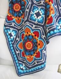 Janie Crow - Persian Tiles Crochet Blanket in Stylecraft Life DK (leaflet)