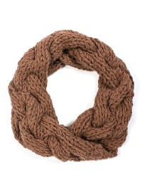 Toft Striped Giant Cable Collar Pattern in Chunky