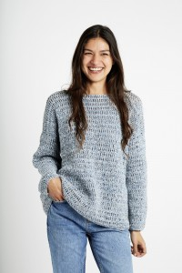 Wool and the Gang All Night Long Tunic in Billie Jean (booklet)