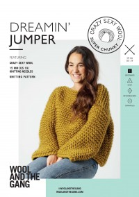 Wool and the Gang Dreamin' Jumper in Crazy Sexy Wool (booklet)