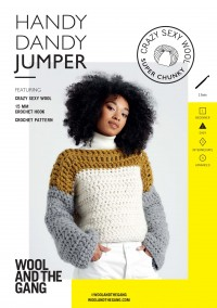 Wool and the Gang Handy Dandy Jumper in Crazy Sexy Wool (booklet)