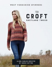 West Yorkshire Spinners - Alana Cabled Sweater in Wild Shetland Aran Roving (leaflet)