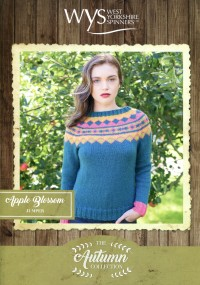 West Yorkshire Spinners Blue Faced Leicester Aran - Apple Blossom Jumper (leaflet)