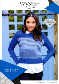 West Yorkshire Spinners Wensleydale Gems - Arabella Striped Jumper (leaflet)
