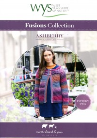 West Yorkshire Spinners Aire Valley Aran Fusions - Ashberry Cardigan (leaflet)