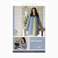 Janie Crow - Audrey Swing Jacket in West Yorkshire Spinners Colour Lab DK (leaflet)